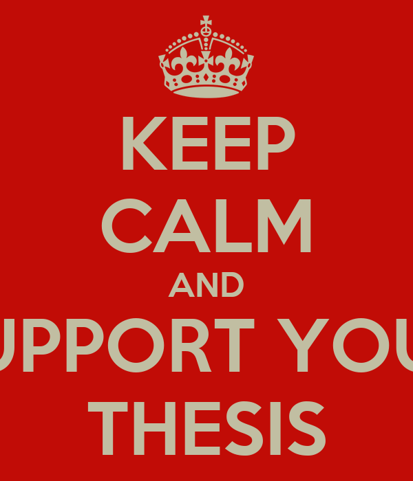 Support thesis