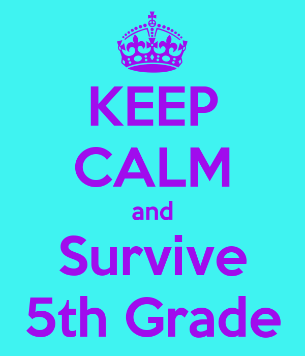 How to survive fifth grade book excel