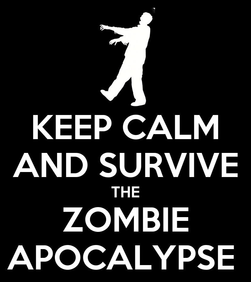 Zombie Survival Wallpaper Keep Calm And Survive The