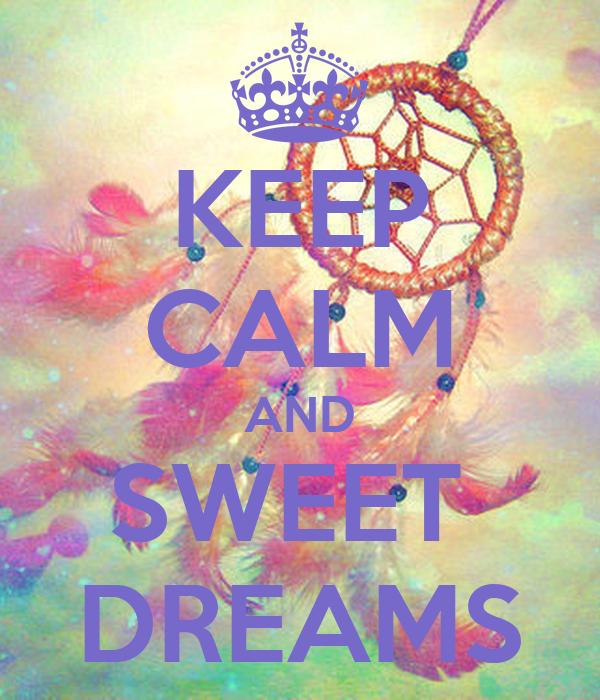 sweet dreams wall decal