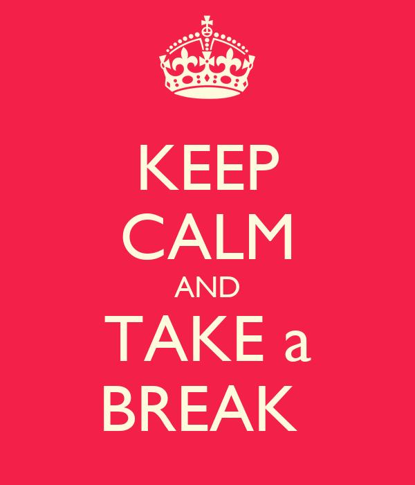 Take a Break Icon Calm And Take a Break Icon