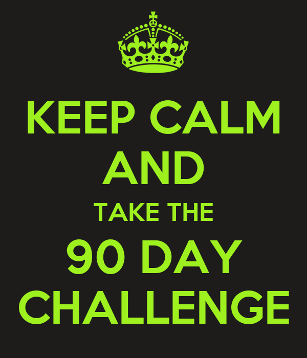90 Day Challenge It Works