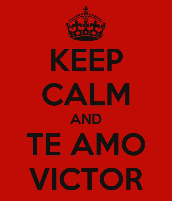 Imagen de victor te amo - Imagui