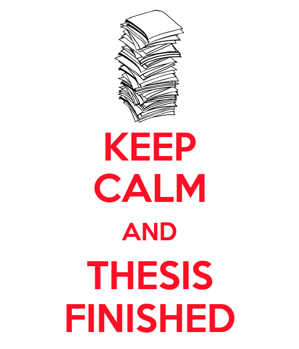 finishing a dissertation Dear kerry ann, i was hoping to finish my dissertation last year and graduate in may but it's august, i'm heading back for another year on campus and i'm.