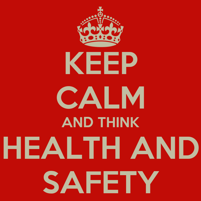 keep calm and think health and safety poster d smith keep calm o matic