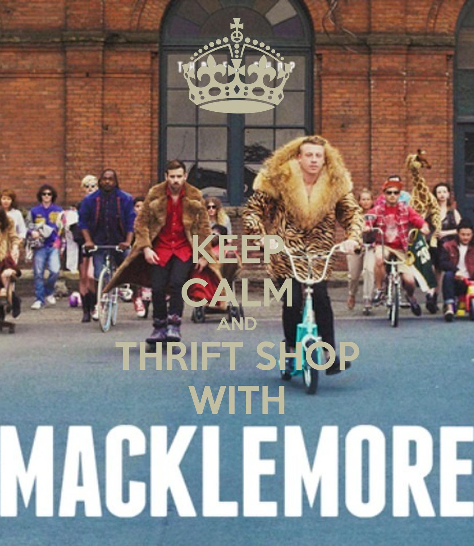 Macklemore Thrift Shop Lyrics