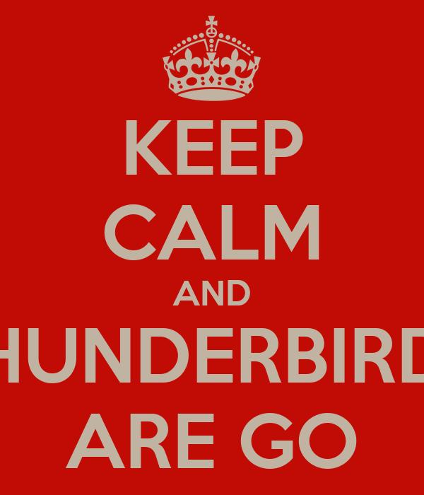 Pin Thunderbird...
