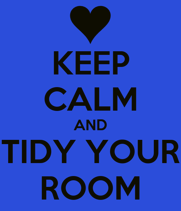 Do this every couple of weeks – and if you tidy, put your clothes away and make your bed daily, you will see a major difference in the cleanliness of your room. If your room is a disaster zone, clean it thoroughly once, and then commit to 30 days of making your bed daily, 2 minutes, tidying, 5 minutes, and putting your clothes away each day.