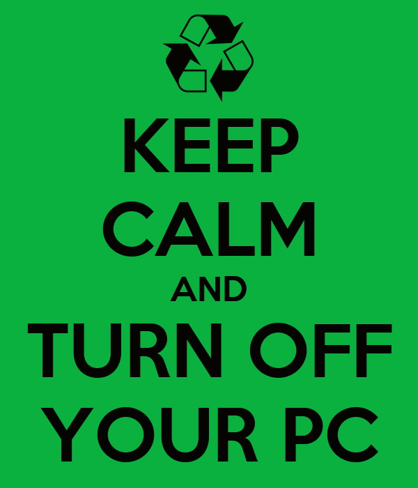 turn off your computer So, to paraphrase howard beale in the great movie network, go ahead, turn off your screen turn it off right now turn it off right now stop reading this article, turn off the screen, and get the heck out of the office.
