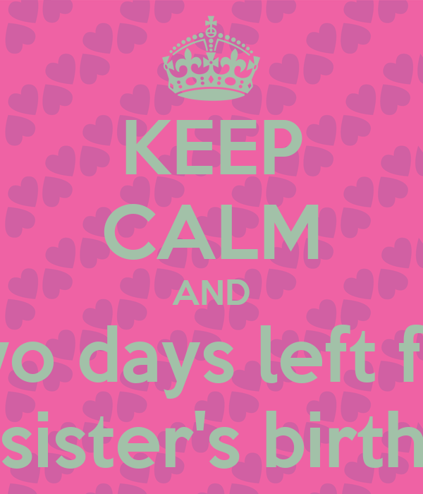 For My Sisters