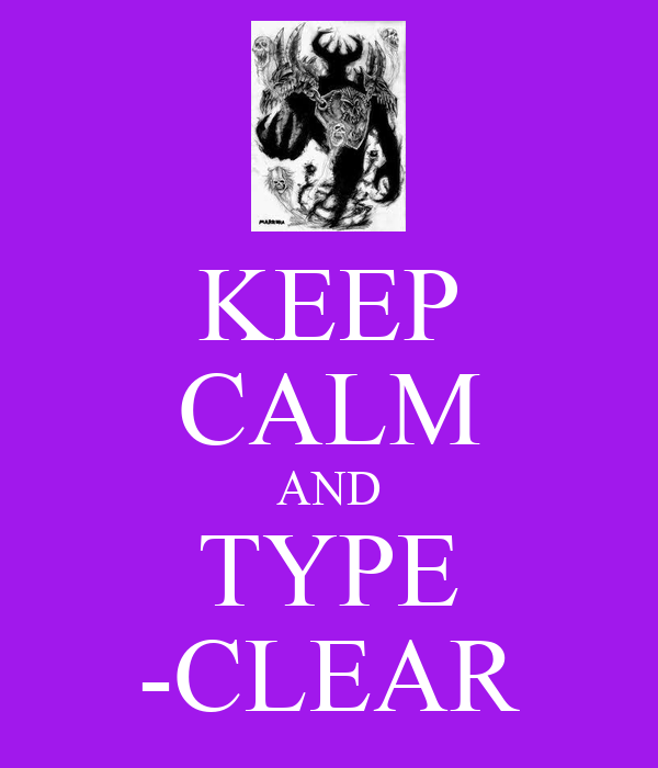 Keep calm and type clear keep calm and carry on image for Keep calm font