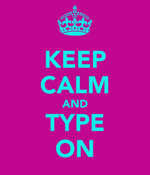 Technology kidz for Keep calm font