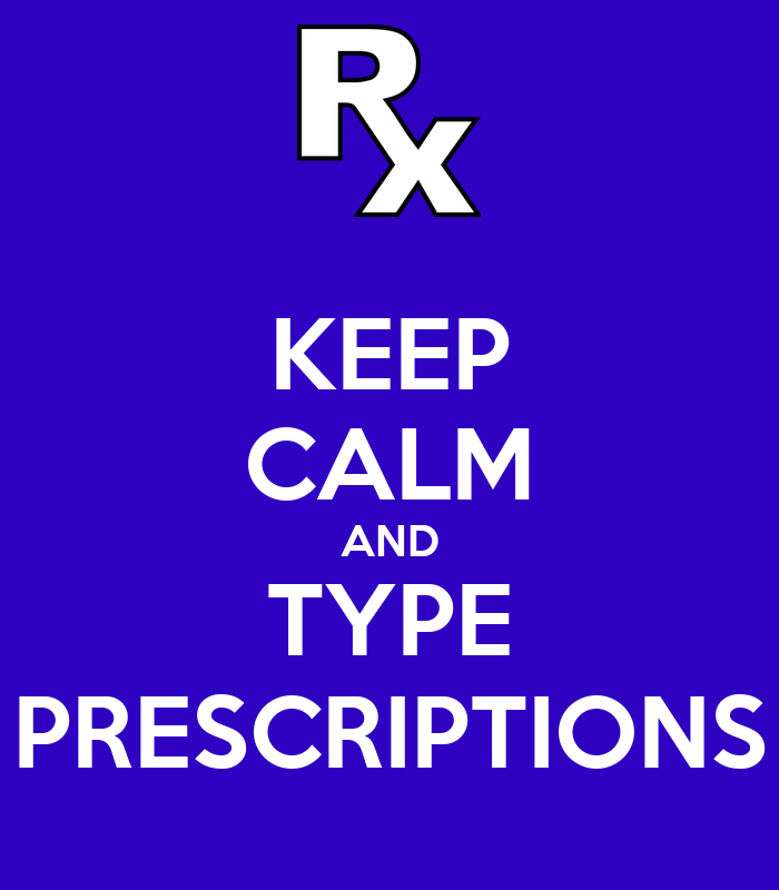 Keep calm and type prescriptions poster dr keep calm o for Keep calm font download