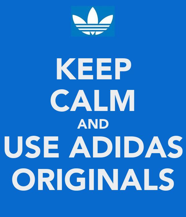 adidas original poster