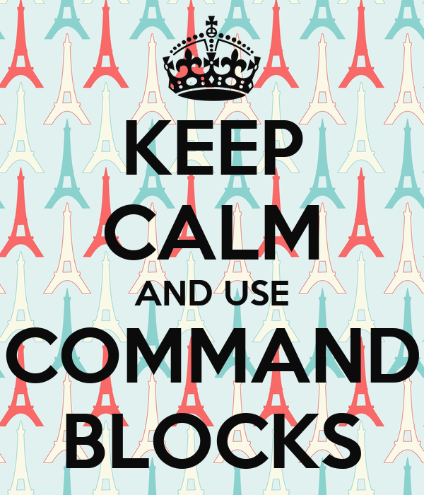 how to use command blocks