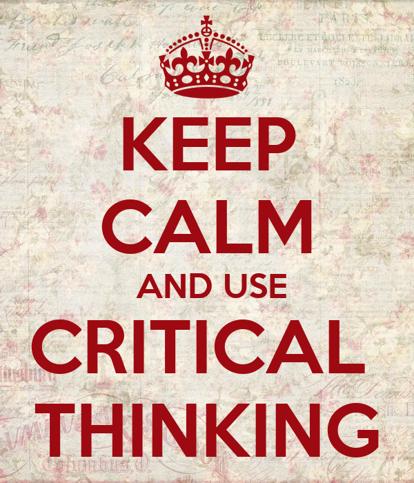 cognitive skills used in critical thinking Critical thinking skills they can apply their powers of critical thinking to themselves and to monitor ones cognitive activities, the elements used in.