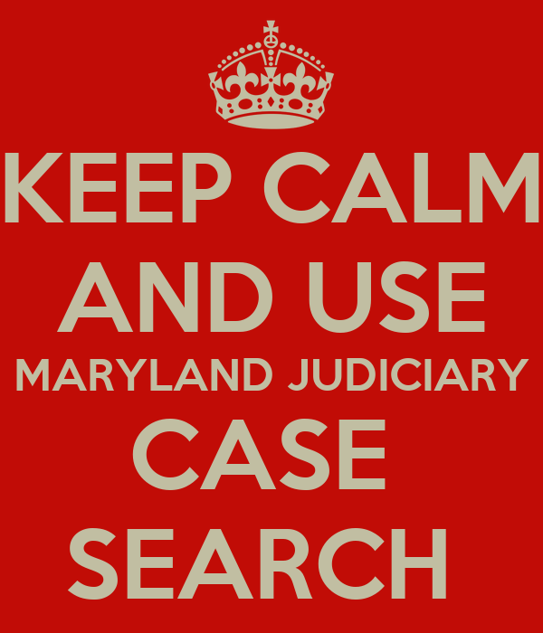 Maryland Judiciary Judgment and Liens Search