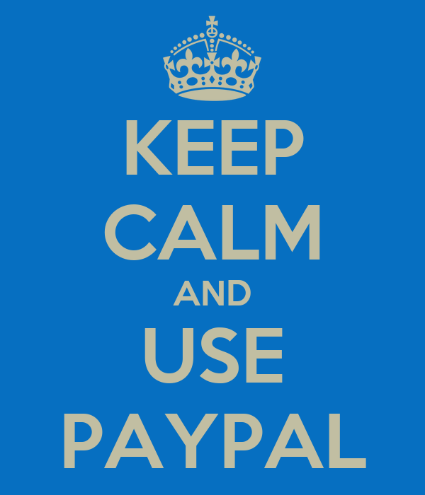 using pay pal