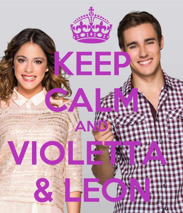Keep calm and violetta leon poster chiara keep calm - Photo de leon et violetta ...