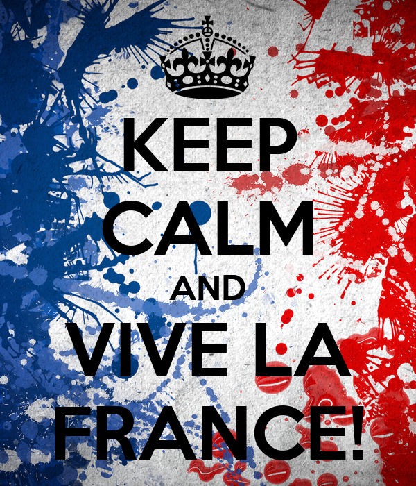 Keep calm and vive la france poster antoinette keep calm o matic for Poster revolution france