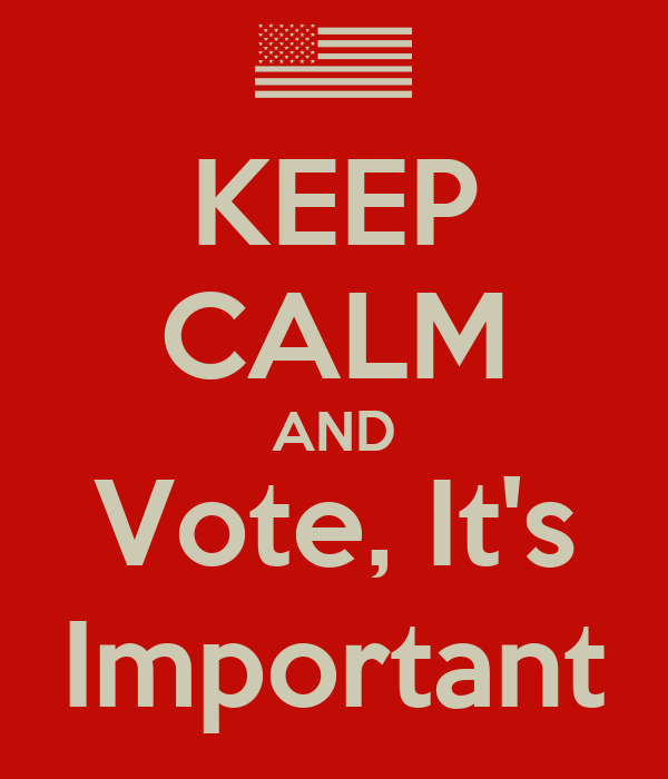 why its important to vote Why should you vote that may not seem like a big deal, but it is a very important right–only if you use it your vote is just as important as the president's.