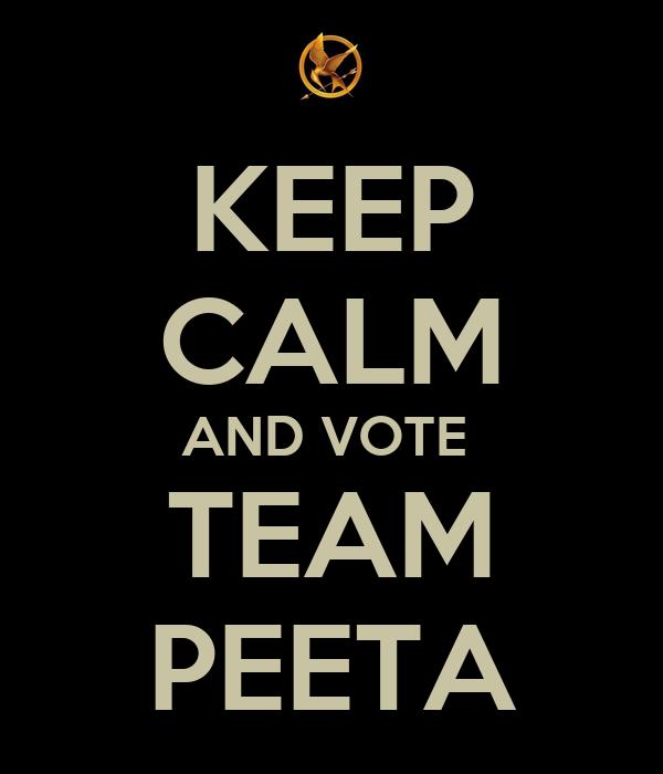 Préfères tu ...ou ... - Page 2 Keep-calm-and-vote-team-peeta