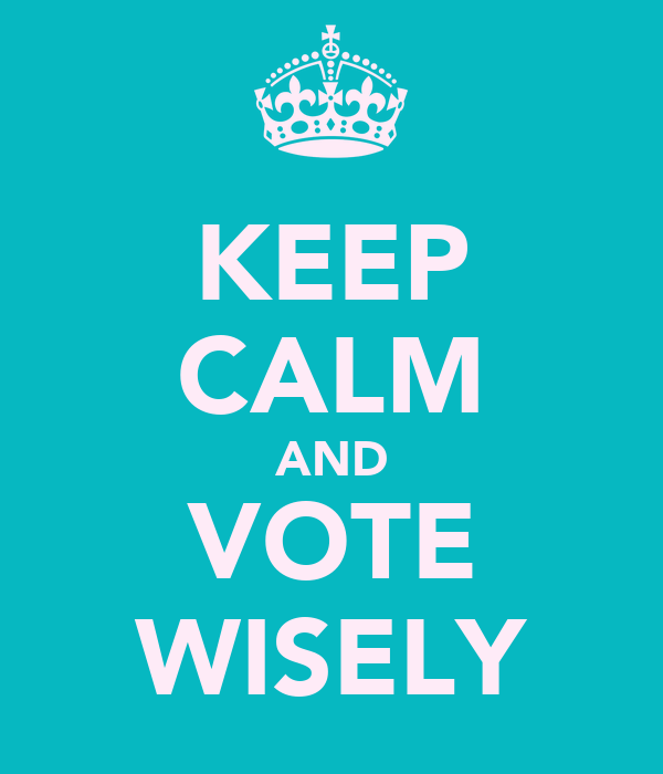 Vote Wisely Quotes