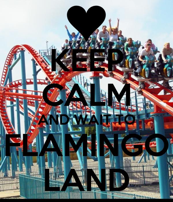 O Flamingo Land AND WAIT TO FLAMINGO LAND