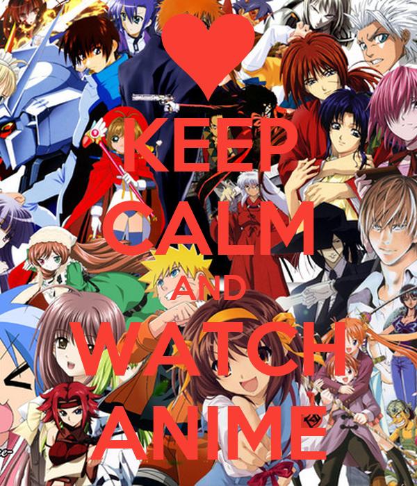keep calm and watch anime ile ilgili görsel sonucu