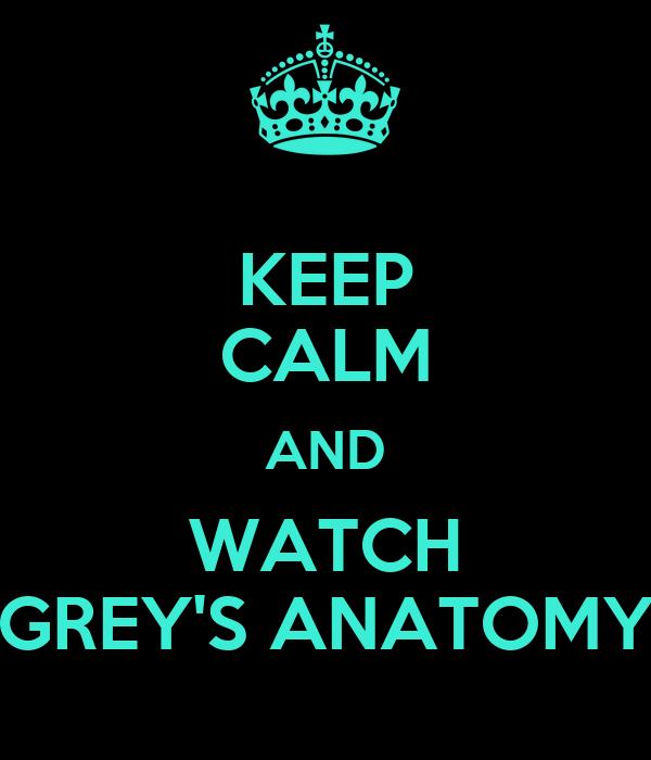 Watch greays anatomy online