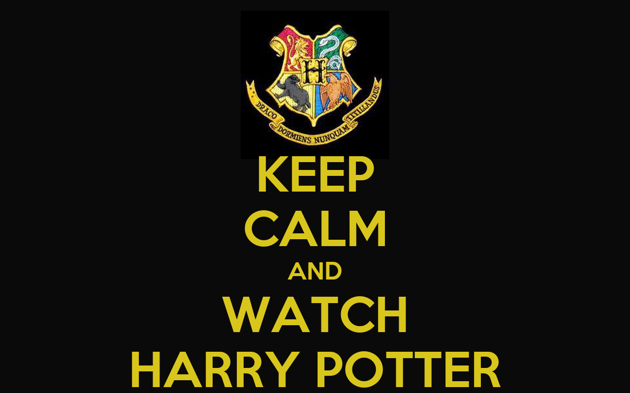 keep calm and watch harry potter poster patricia keep