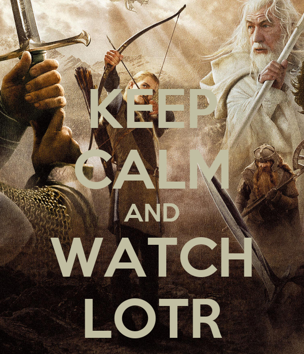 The Lord Of The Rings Marathon