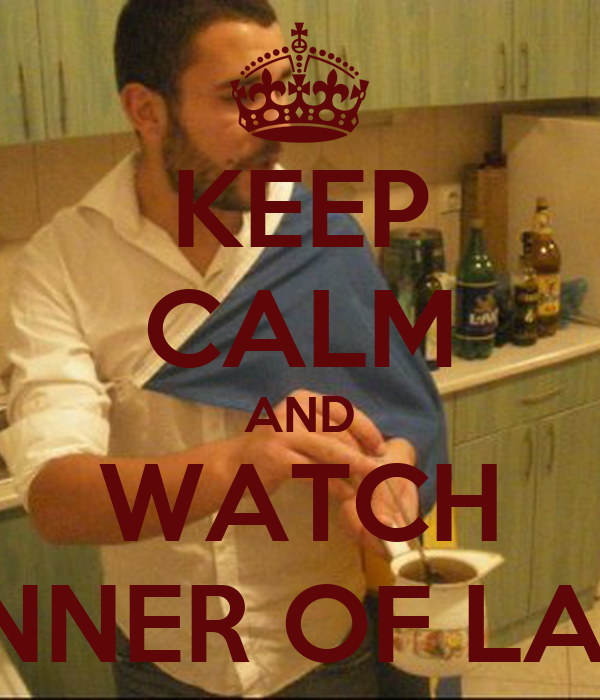 Keep Calm And Watch The Dinner Of Lazarus Keep Calm And