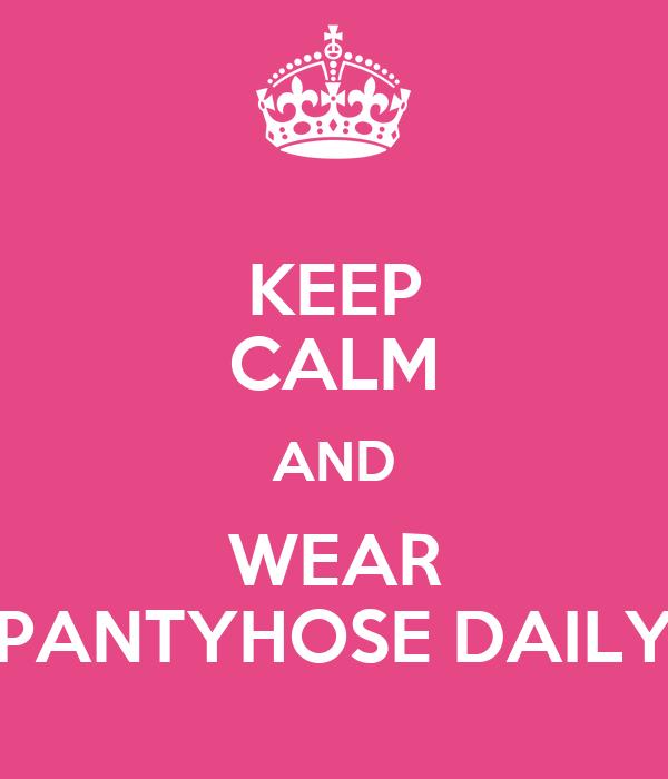 To Wear Pantyhose To Keep 113
