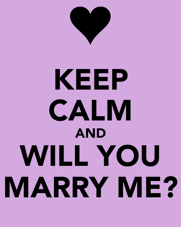 Will You Marry Me Quotes. QuotesGram