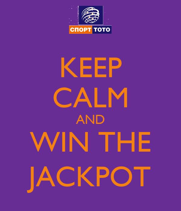 win the jackpot