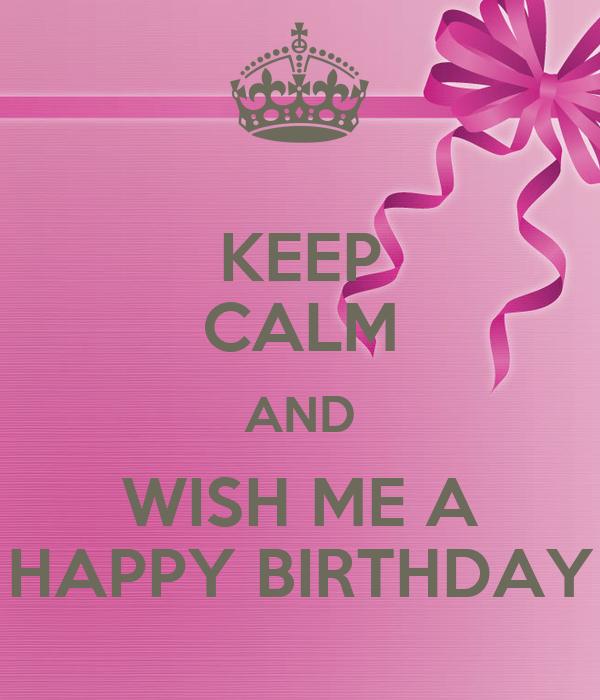 wished me a happy birthday
