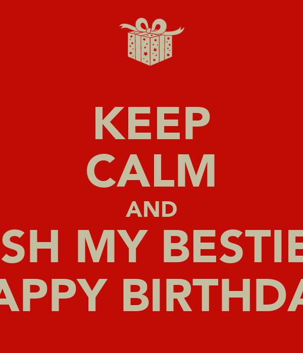 Happy Birthday Bestie Auto Design Tech