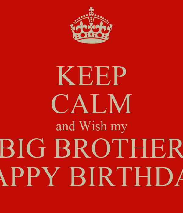 Big Brother Birthday Wallpaper Big Brother Happy Birthday