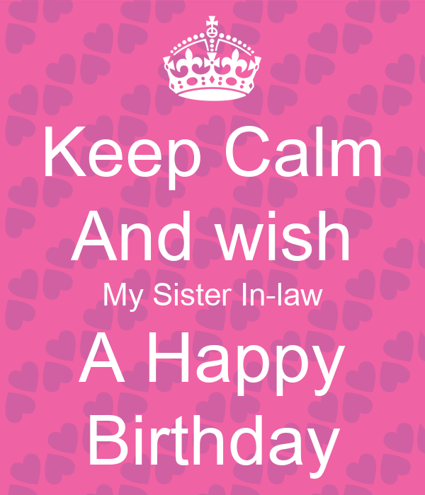 Happy Birthday To My Sister In Law Sms Happy Birthday Sister In Law
