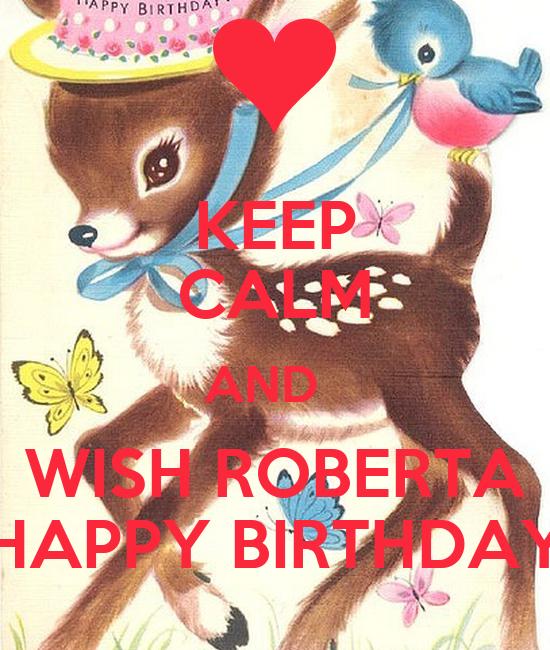 happy birthday roberta images
