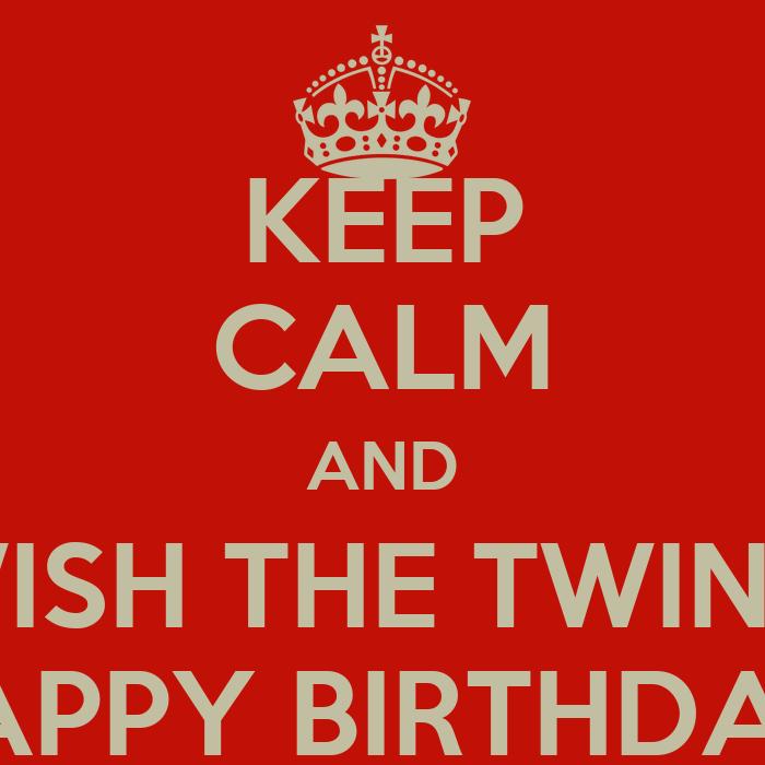 Happy Birthday Twin Quotes Funny Happy Birthday Twins Happy Birthday Twin Sister Quotes