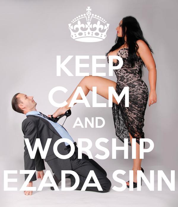 Keep Calm And Worship Ezada Sinn Poster Naveen Keep