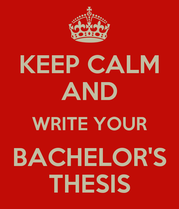 Bachelor thesis writing service
