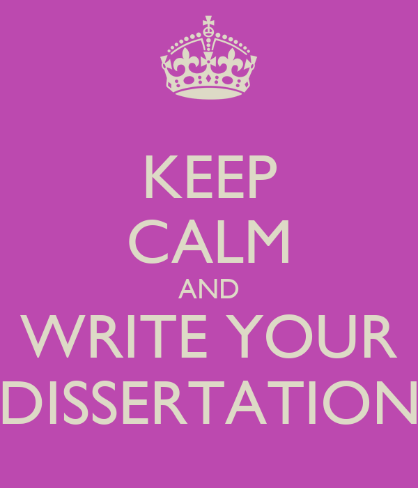 Write your dissertation for you
