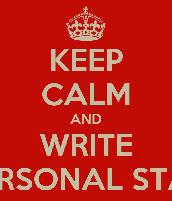 generator personal statement