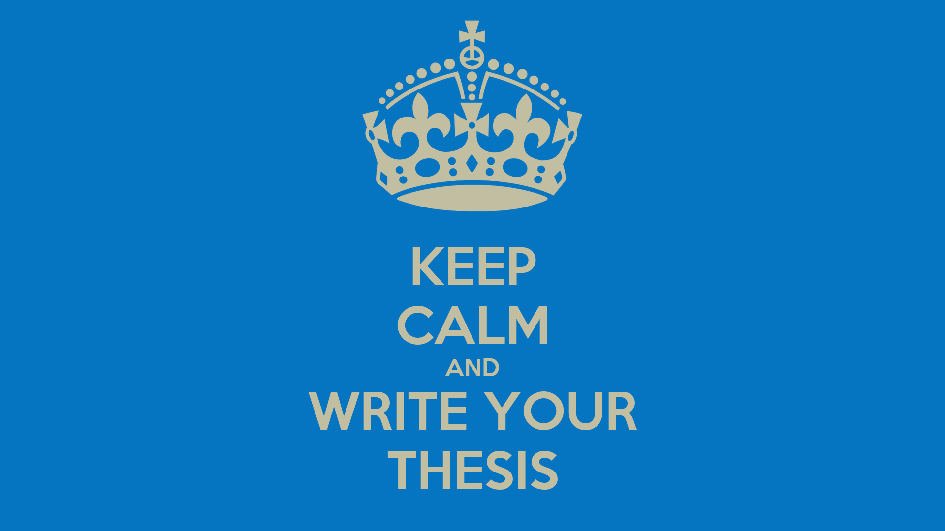 not writing my thesis Should i use either 'we' or 'i' in my thesis i am writing my thesis an events remember that what ever you have done in your thesis involved, not only.
