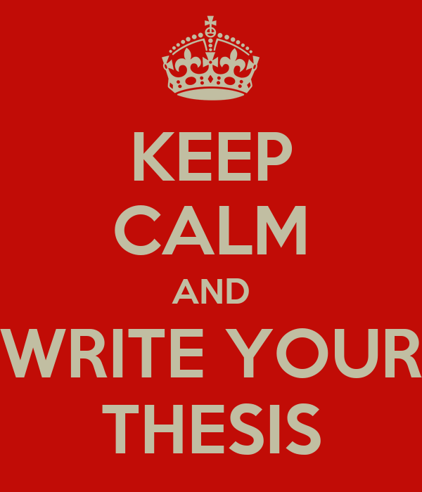 Write your dissertation in a week