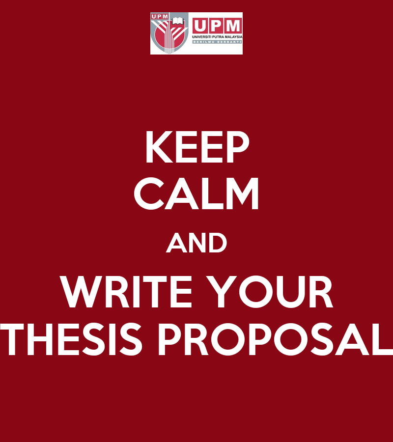 master your thesis