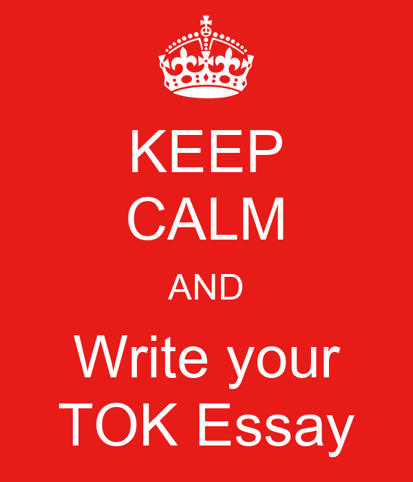 writing a good tok essay Six steps to writing a good tok essay: a student guide  1 select a title from the list provided by the ib do not instantly seize upon a.